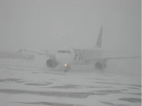 I can understand canceling a flight when it looks like this. But last time I checked, this NEVER happens in NC.